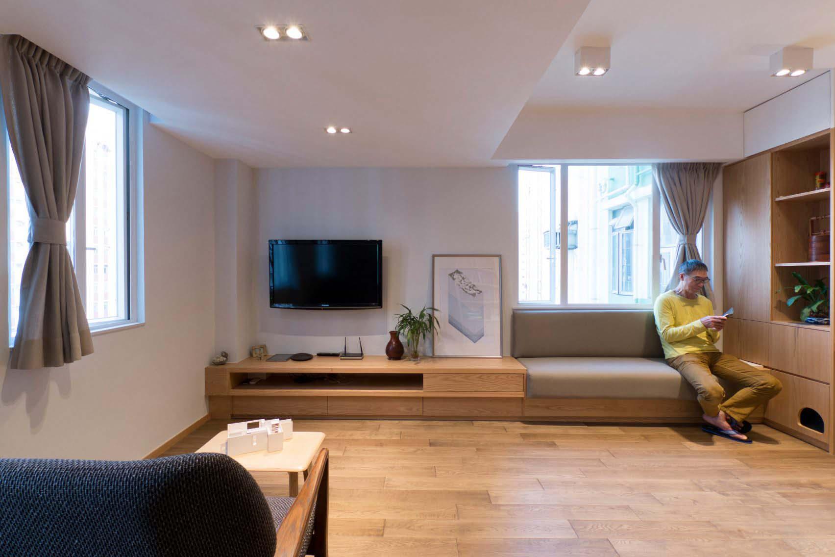 Thiết kế siêu thông minh biến căn nhà nhỏ trở nên rộng rãi hơn hẳn - 6