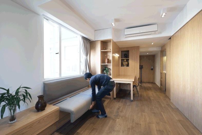 Thiết kế siêu thông minh biến căn nhà nhỏ trở nên rộng rãi hơn hẳn - 8