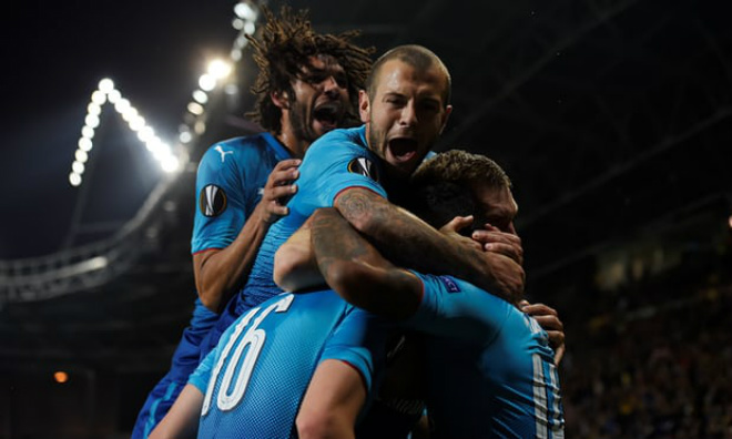 BATE Borisov - Arsenal: Rượt đuổi khốc liệt 6 bàn thắng 1