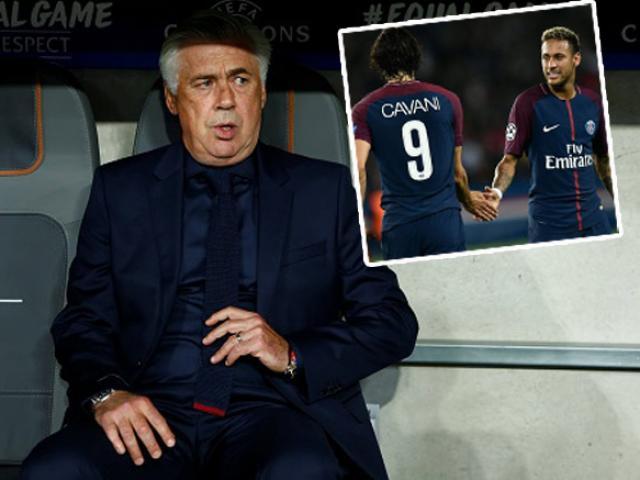 Thuyết âm mưu: PSG khiến Ancelotti mất việc, đón về làm thầy Neymar-Cavani