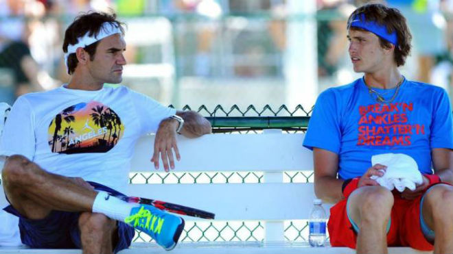 """Tin thể thao HOT 29/9: Zverev muốn """"bái sư"""" Federer 1"""