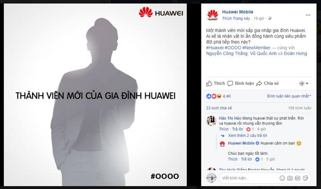 """""""Lộ diện"""" đại sứ mới của Huawei tại Việt Nam - 1"""