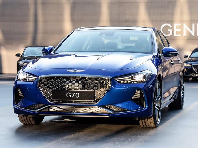 Genesis G70: Xe sang Hàn Quốc giá 752 triệu đồng