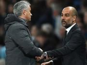 Man City đua MU: Pep chế nhạo Mourinho chơi bóng chán ngán