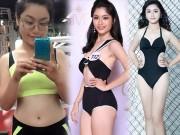 Làm đẹp - Cô gái Sài gòn có vòng ba hơn 1 mét giảm 20kg để thi hoa hậu