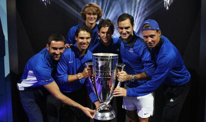 """Đua số 1: Federer dồn sức cuối năm, chơi """"hư chiêu"""" với Nadal 1"""