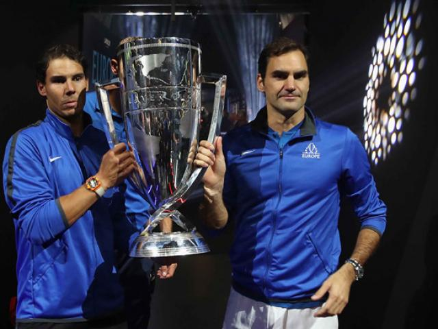 """Clip hot tennis: Nadal """"xỏ háng"""" như Federer vẫn thua tuyệt kĩ lốp bóng - 1"""