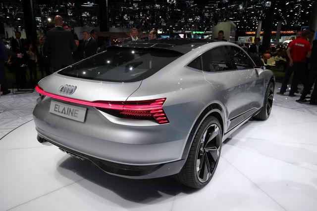Audi Elaine: Ý tưởng xe tự lái độc đáo - 3