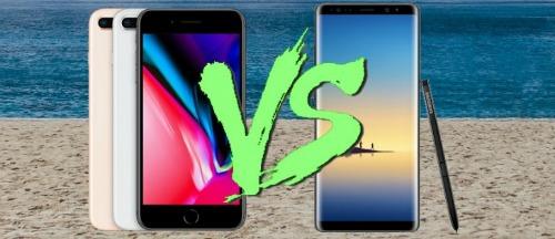 Đọ tốc độ iPhone 8 Plus và Galaxy Note 8: Ai nhanh hơn? - 1