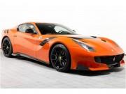 Ferrari F12tdf màu đỏ cam cực hiếm giá 32 tỷ đồng