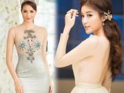"""Thời trang - Top váy """"mặc như không"""" gây xôn xao nhất của mỹ nữ Việt"""