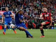"Bournemouth - Leicester: Gần cửa  "" địa ngục """
