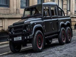 Ô tô - Xe máy - Hãng độ xe ra mắt Land Rover Defender pick-up 6 bánh