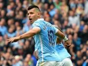 """Bóng đá - Ghi 5 bàn """"siêu tốc"""", Aguero đi vào lịch sử NHA"""