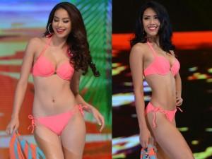 Thời trang - Ảnh bikini nóng rực của top 15 Hoa hậu Hoàn vũ VN 2015