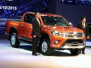 Tư vấn - Ra mắt xe bán tải Toyota Hilux 2015, có bản số tự động