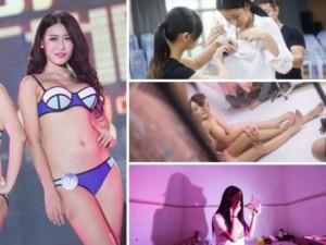 Làm đẹp - Hành trình nữ sinh 9X nâng vòng 1 thi Hoa hậu Ngực đẹp