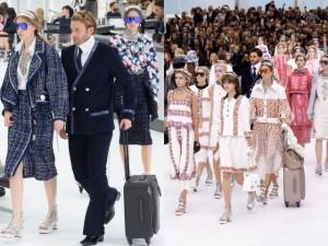 """Thời trang - Chanel """"chơi sang"""" với sân bay to đẹp giữa lòng Paris"""