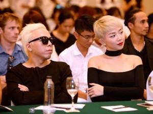 Ca nhạc - MTV - Tóc Tiên, Hoàng Touliver gây chú ý với màu tóc giống nhau