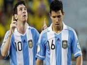 "Bóng đá - Argentina - Ecuador: Chờ Aguero ""phế truất"" Messi"
