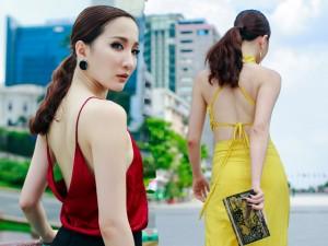 Bạn trẻ - Cuộc sống - Hot girl Thảo Goby khoe lưng trần nõn nà