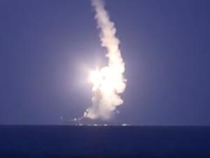Tin tức trong ngày - Video: Tàu chiến Nga bắn 26 tên lửa tấn công IS