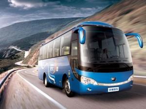 Ô tô - Xe máy - Xe buýt tự lái đầu tiên trên thế giới trình làng