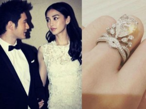 Mùa cưới - Váy cưới và nhẫn tiền tỉ tại đám cưới của Angelababy
