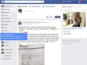 Công nghệ thông tin - Facebook của người dùng Việt Nam đổi giao diện