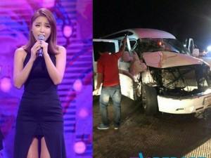 Ca nhạc - MTV - Xe chở ca sỹ Hàn bị tai nạn, hư hỏng nặng