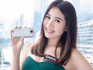 """Thời trang Hi-tech - Dàn mỹ nữ xinh đẹp bên máy ảnh """"tự sướng"""" Exilim EX-TR35"""