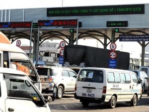 Tin tức trong ngày - Thu phí gây ùn tắc giao thông có thể bị phạt 70 triệu đồng