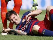 """Bóng đá - """"Bão"""" chấn thương đe dọa tham vọng của Barca"""