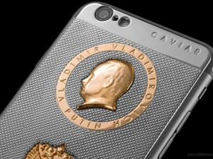 Thời trang Hi-tech - Độc đáo vỏ iPhone 6s chạm hình tổng thống Putin