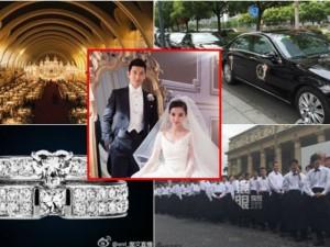 """Phim - 9 kỷ lục trong """"đám cưới cổ tích"""" của Huỳnh Hiểu Minh"""