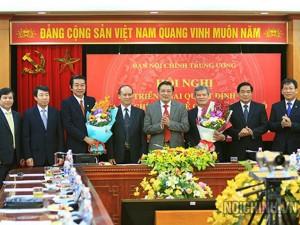 Tin tức trong ngày - 2 bí thư tỉnh làm Phó Ban Nội chính Trung ương