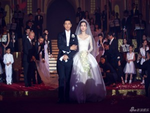 Phim - Tranh cãi về đám cưới xa hoa của Huỳnh Hiểu Minh