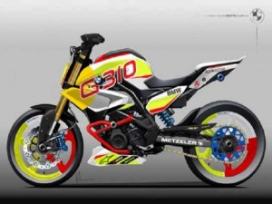 """Xe xịn - Soi """"chất lừ"""" của siêu xe mô-tô Concept Stunt G 310"""