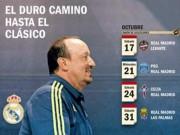 """Bóng đá - Đếm ngược El Clasico: Benitez đang ngồi trên """"lửa"""""""