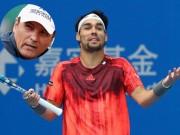 Thể thao - Tennis 24/7: Chú Nadal khó chịu hành động của Fognini