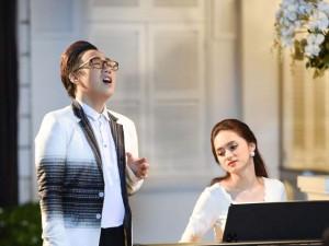"""Phim - """"Trót yêu"""" vang lên trong lễ kỷ niệm ngày cưới Việt Trinh"""