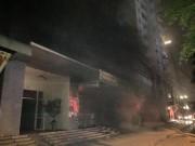 Video An ninh - HN: Cháy khu đô thị Xa La, nhiều người ngạt khói