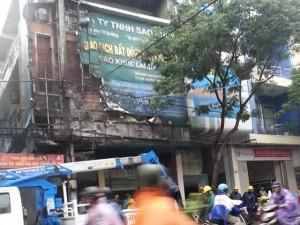 Tin tức trong ngày - Đà Nẵng: Cháy nổ vang trời giữa mưa lớn