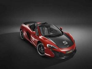Ô tô - Xe máy - Mê mẩn với mẫu xe McLaren 650S Spider bản đặc biệt