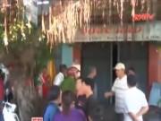 Video An ninh - Tạt xăng đốt quán cà phê, thủ phạm và bé 5 tuổi chết cháy