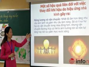 """Giáo dục - du học - Tự mày mò cách dạy tích hợp, học sinh tiếp tục là """"vật thí nghiệm""""?"""