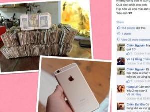 Bạn trẻ - Cuộc sống - Người vợ trẻ tiết kiệm tiền lẻ mua iPhone 6 Plus tặng chồng