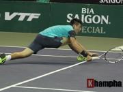 Thể thao - Hoàng Thiên, Hoàng Nam dừng bước ở Việt Nam Open