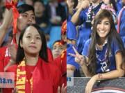 Bóng đá - Fan nữ xinh Việt Nam & Thái Lan cùng tụ hội ở Mỹ Đình