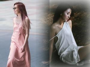 """Váy - Đầm - Chị em Việt """"điệu quên thời tiết"""" với váy ngủ mỏng"""